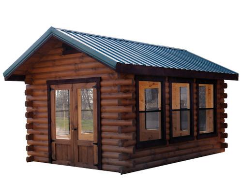 10x14 Camper Log Cabin