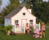 Gingerbread Cottage | Wayside Lawn Structures in Columbiana, Ohio