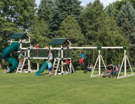 Discovery Depot Set D59-8 Swingset | Adventure World Playsets