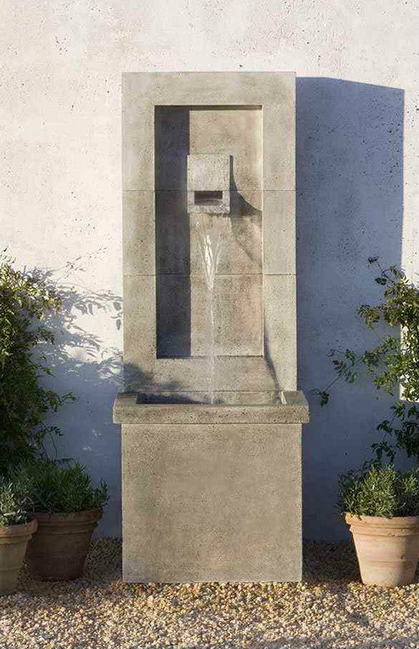 Moderne Fountain Cast Stone
