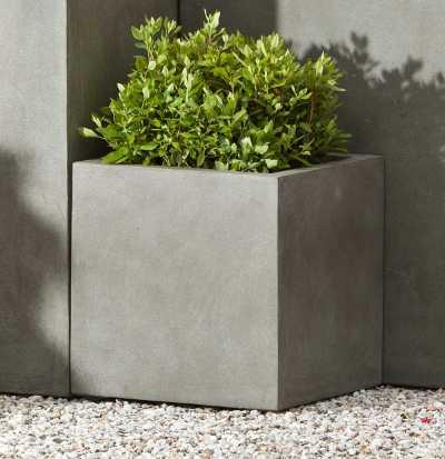 Modular Lite Square Planter Concrete Lite