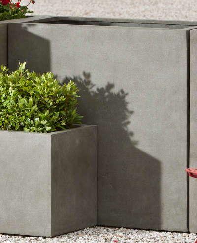 Modular Lite Tall rectangle Planter