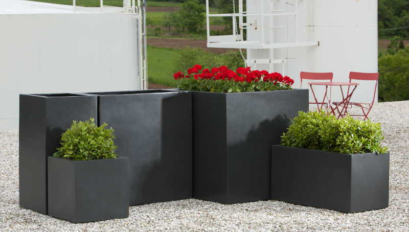 Modular Lite Tall Series Planters