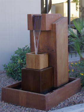 Hiearchy Fountain (GFRC in Rustic finish)