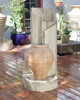 Honey Pot Fountain (GFRC in Standard finish with Ancient background)