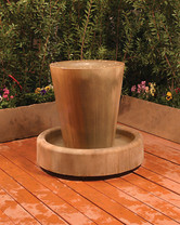 Jug Fountain (GFRC in sierra finish)