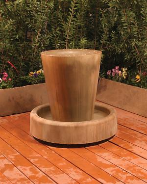 Jug Fountain (GFRC in sierra finish)