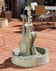 Spindel Fountain (GFRC in Dark Ancient finish)