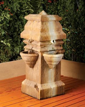 Tagai Fountain (GFRC in Orlona finish)