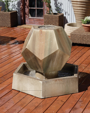 Twelve Side Fountain (GFRC in Sierra finish)