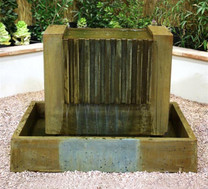 Falls Fountain  (GFRC in Atri finish)