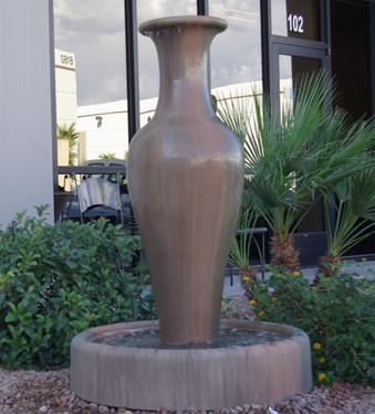 Steam Fountain (GFRC in Sierra finish)