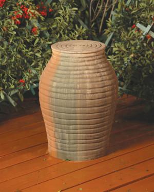 Amphora Pedestal (GFRC in Sierra finish)