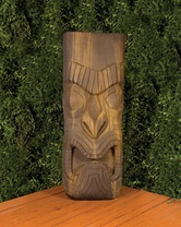 Tiki Statue (GFRC in Absolute finish)