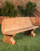 Veneto Bench (GFRC in Desert Rose finish)