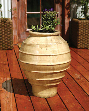 Greek Jar Planter  (GFRC in Ancient finish)