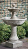 Acanthus Two Tiered Fountain (Cast stone in Alpine Stone finish)