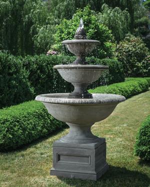 Monteros Fountain (Cast Stone in Alpine Stone finish)