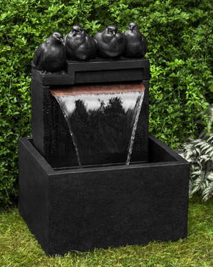 Quartet Fountain (Cast Stone in Nero Nuovo finish)