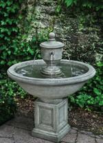 Rochefort Fountain (Cast Stone in Alpine Stone finish)