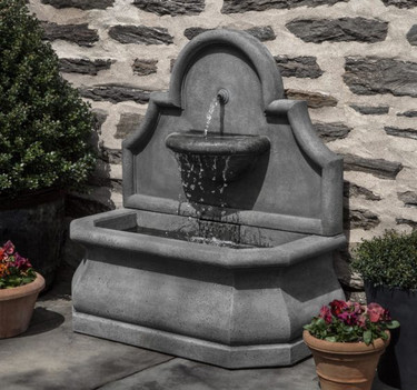 Segovia Fountain (Cast Stone in Alpine Stone finish)