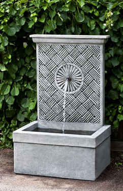 Solaris Fountain (Cast Stone in Alpine Stone finish)