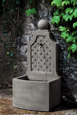 Trelliage Fountain (Cast Stone in Alpine Stone finish)