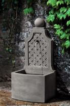Trelliage Fountain (Cast Stone in Alpine Stone finish)