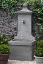 Vence Wall Fountain (Cast Stone in Alpine Stone finish)