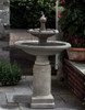 Westover Fountain (Cast Stone in Alpine Stone finish)