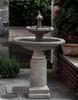 Westover Fountain (Cast Stone in Alpine Stone finish)