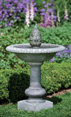 Williamsburg Pineapple Fountain (Cast Stone in Alpine Stone finish)