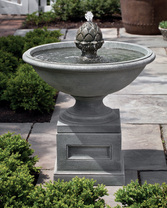 Williamsburg Chiswell Fountain (Cast Stone in Alpine Stone finish)