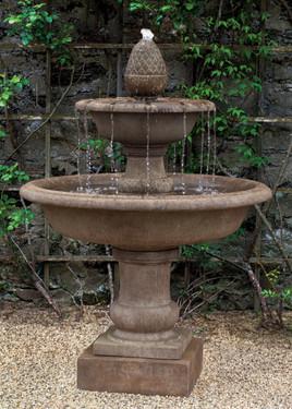 Wiltshire Fountain (Cast Stone in Aged Limestone finish)