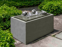 Avondale Fountain (Cast Stone in alpine stone finish)