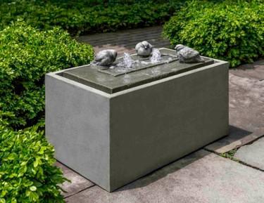 Avondale Fountain (Cast Stone in alpine stone finish)