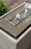 Lutea Fountain detail (Cast Stone in alpine stone finish)