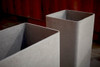 Tower Planters (Fiber Cement in gray)