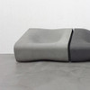 Dune Center Seat (Fiber cement in gray finish)