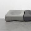 Dune Center Seat (Fiber cement in gray finish)
