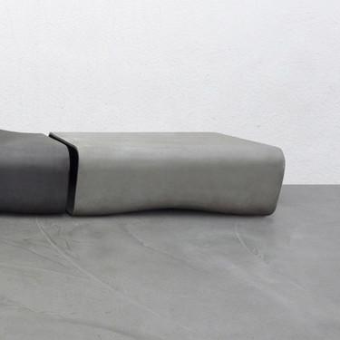 Dune Table (Fiber cement in gray finish)