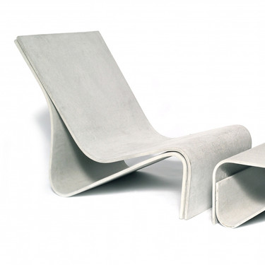 Sponeck Chair (Fiber cement in gray finish)