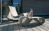 Willy Guhl Table and Chair (Fiber cement in gray finish)
