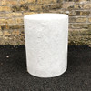 Dock Table Stool (Fiberglass resin and aggregate in white stone finish)