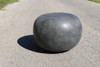 "Pebble 22"" Diameter Coffee Table (Fiberglass resin and aggregate in coal stone finish)"
