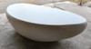 River Stone Coffee Table 78in (Fiberglass resin and aggregate in natural stone finish)
