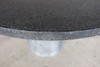 Hive Dining Table Detail (Fiberglass resin and aggregate in gray stone finish)