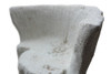Acacia Chair Detail (Fiberglass resin and aggregate in white stone)