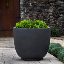 Danilo Planters (fiberglass in lead finish)