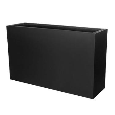 Sandal Planter Box (fiberglass in black finish)